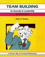 Cover of: Team building