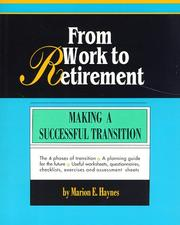 Cover of: From work to retirement