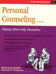 Cover of: Personal counseling