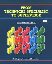 Cover of: From technical specialist to supervisor