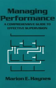 Cover of: Managing performance