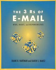Cover of: The 3 Rs of e-mail