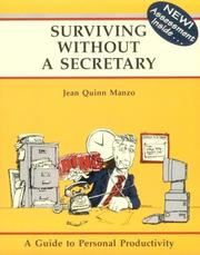 Cover of: Surviving without a secretary