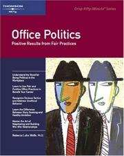 Cover of: Office politics | Rebecca Luhn Wolfe