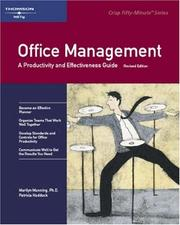 Cover of: Crisp: Office Management