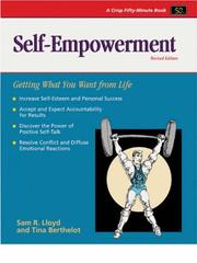 Cover of: Self-empowerment