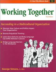 Working together by George F. Simons