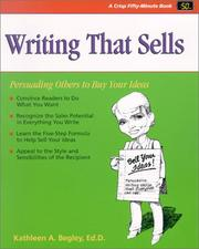 Cover of: Writing that sells | Kathleen A. Begley