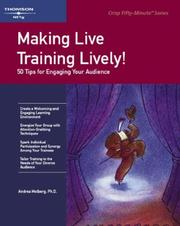 Cover of: Crisp: Making Live Training Lively