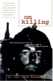 Cover of: On Killing