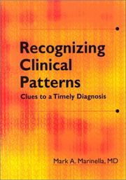 Cover of: Recognizing Clinical Patterns