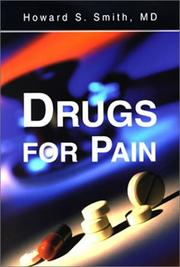 Cover of: Drugs for Pain