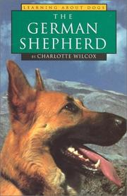 Cover of: The German shepherd | Charlotte Wilcox