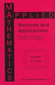 Cover of: Applied Mathematics