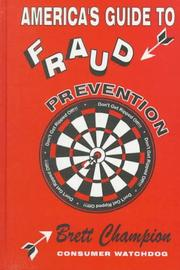 Cover of: America's guide to fraud prevention