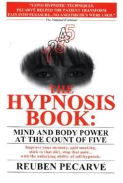 Cover of: The hypnosis book