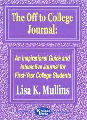 Cover of: The Off to College Journal