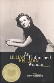 An unfinished woman by Hellman, Lillian