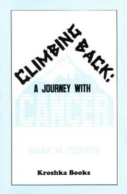 Cover of: Climbing Back | Mark H. Gerner