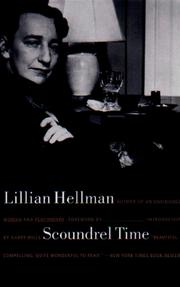 Scoundrel time by Hellman, Lillian