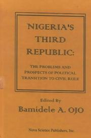 Cover of: Nigeria's Third Republic