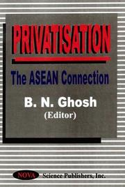 Cover of: Privatisation |