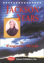 Cover of: Jackson years