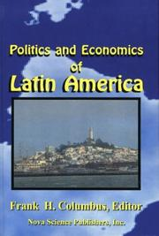 Cover of: Politics and economics of Latin America