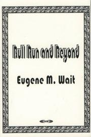 Cover of: Bull Run and beyond
