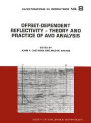 Cover of: Offset-Dependent Reflectivity