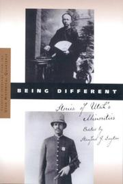 Cover of: Being different |
