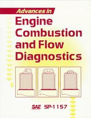 Cover of: Advances in Engine Combustion and Flow Diagnostics | Society of Automotive Engineers.