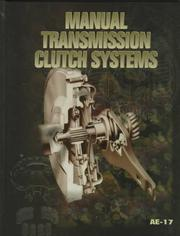 Cover of: Manual Transmission Clutch Systems (Ae (Series))