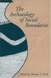 Cover of: ARCHIT SOCIAL BOUNDARIES