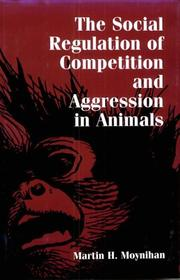 Cover of: SOCIAL REG AGGRESSION ANIMALS
