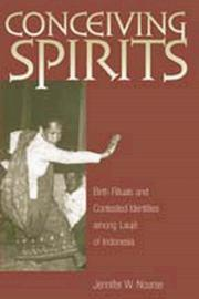 Cover of: CONCEIVING SPIRITS
