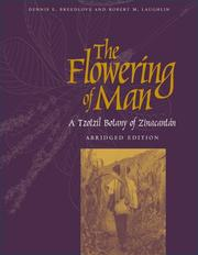 Cover of: FLOWERING OF MAN