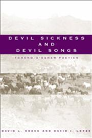 Cover of: Devil sickness and devil songs