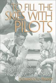 Cover of: TO FILL SKIES W/PILOTS