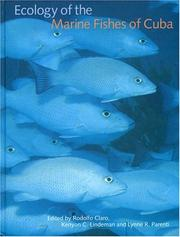 Cover of: ECOL MARINE FISHES CUBA