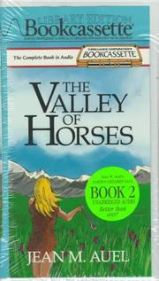 Cover of: Valley of Horses, The (Earth