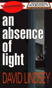 Cover of: An Absence of Light (Bookcassette(r) Edition) |