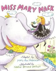 Cover of: Miss Mary Mack