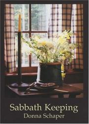 Cover of: Sabbath keeping