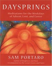 Cover of: Daysprings