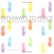 Cover of: Pathways to Peace | A. Jean Lesher