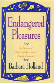 Cover of: Endangered Pleasures