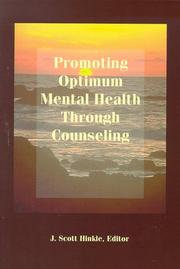 Cover of: Promoting Optimum Mental Health Through Counseling