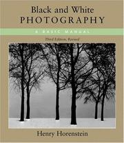 Cover of: Black and White Photography