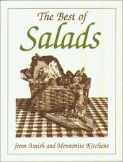 Cover of: Mini Cookbook Collection--Best of Salads (Miniature Cookbook Collection) | Phillis Pellman Good